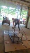 Boer Goat, Fitting Stand, Goat Stand